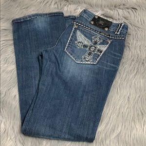 Miss me jeans 30 x 34.5